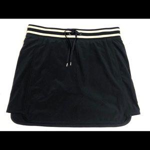 Athleta Navy White 10 skort skirt